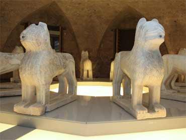 Leones de la Alhambra · Restauración de un símbolo · Museo de Bellas Artes de Granada