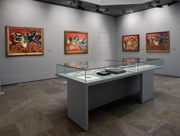 Mattisse en la Alhambra · Museo de Bellas Artes de Granada