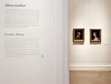 Goya y el Infante Don Luis · Palacio Real de Madrid