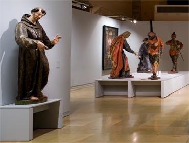 Tesoros del Museo Nacional Escultura · La Lonja · Zaragoza