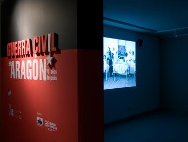 Guerra Civil en Aragón · Centro de Interpretación Robres · Zaragoza