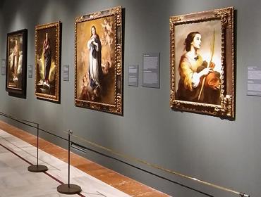 Velázquez, Murillo, Sevilla · Hospital de los Venerables · Sevilla