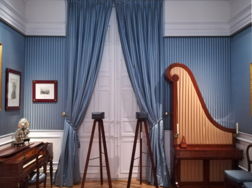 """Se va mi sombra, pero yo me quedo""· Museo del Romanticismo · Madrid"