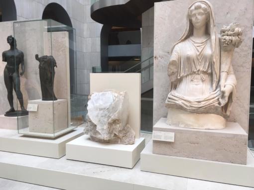 Miguel Ángel Blanco. Lapis specularis. La luz bajo la tierra · Museo Arqueológico Nacional